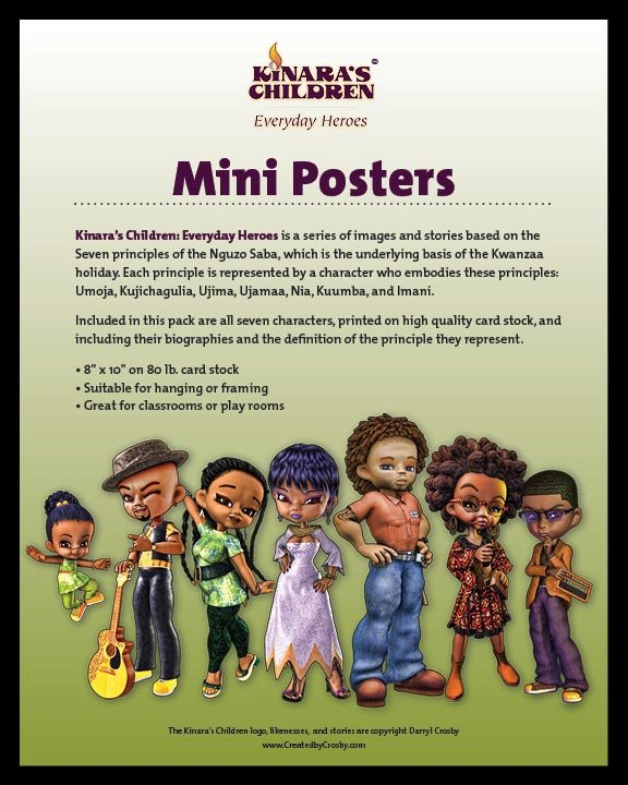 Kinara's Children Mini Posters
