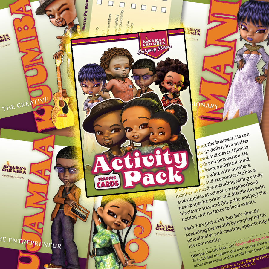 Kinara's Children Activity Pack