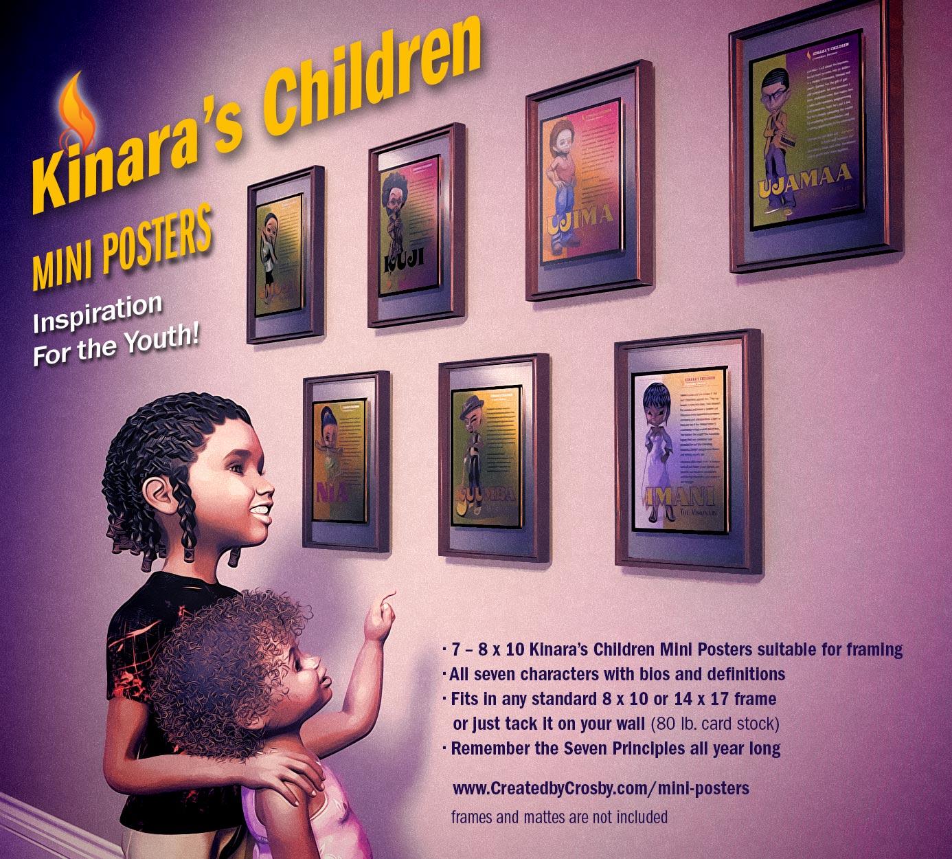 Kinara's Children Mini Poster Ad 2