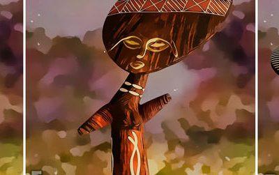 African 3D banner