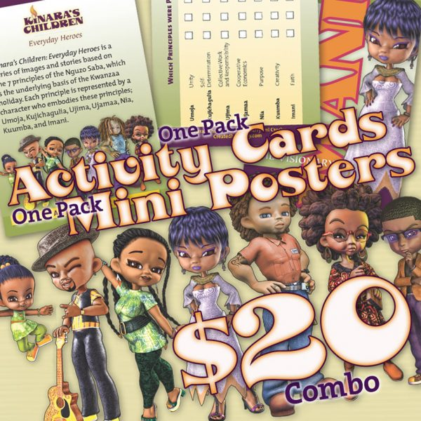 Kinara's Children Mini Posters/Activity Pack Combo