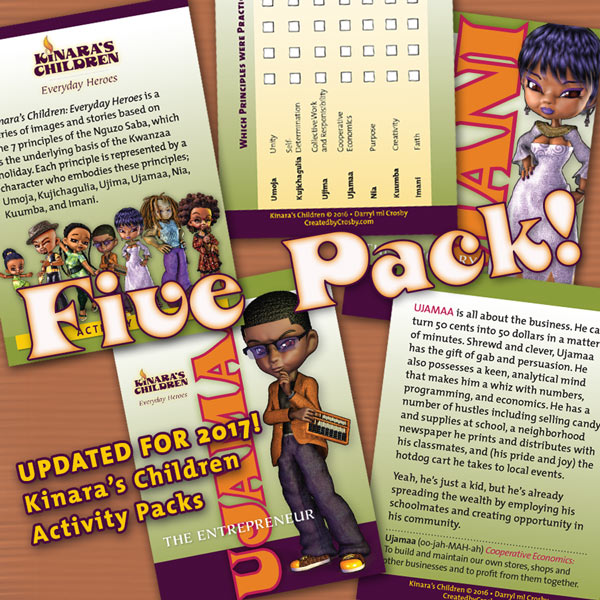 Kinara's Children Activity Five Pack