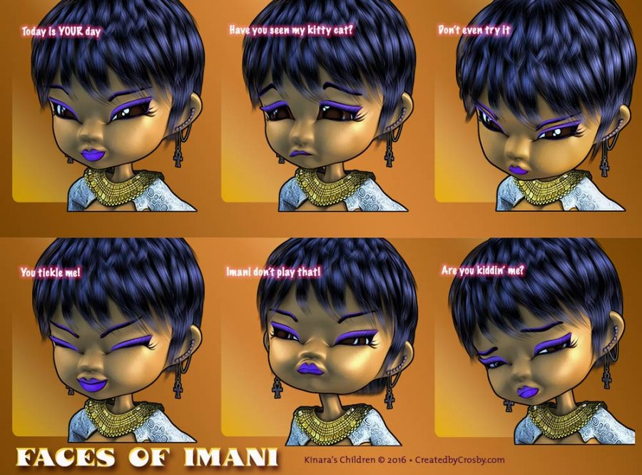Faces of Imani