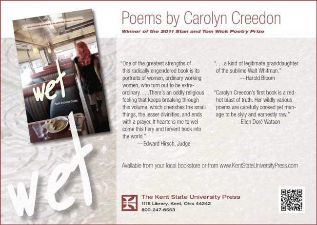 Poetry Promo card