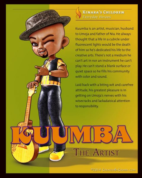Kuumba image and bio