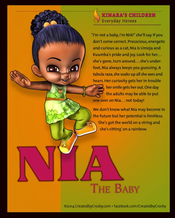 Nia the baby